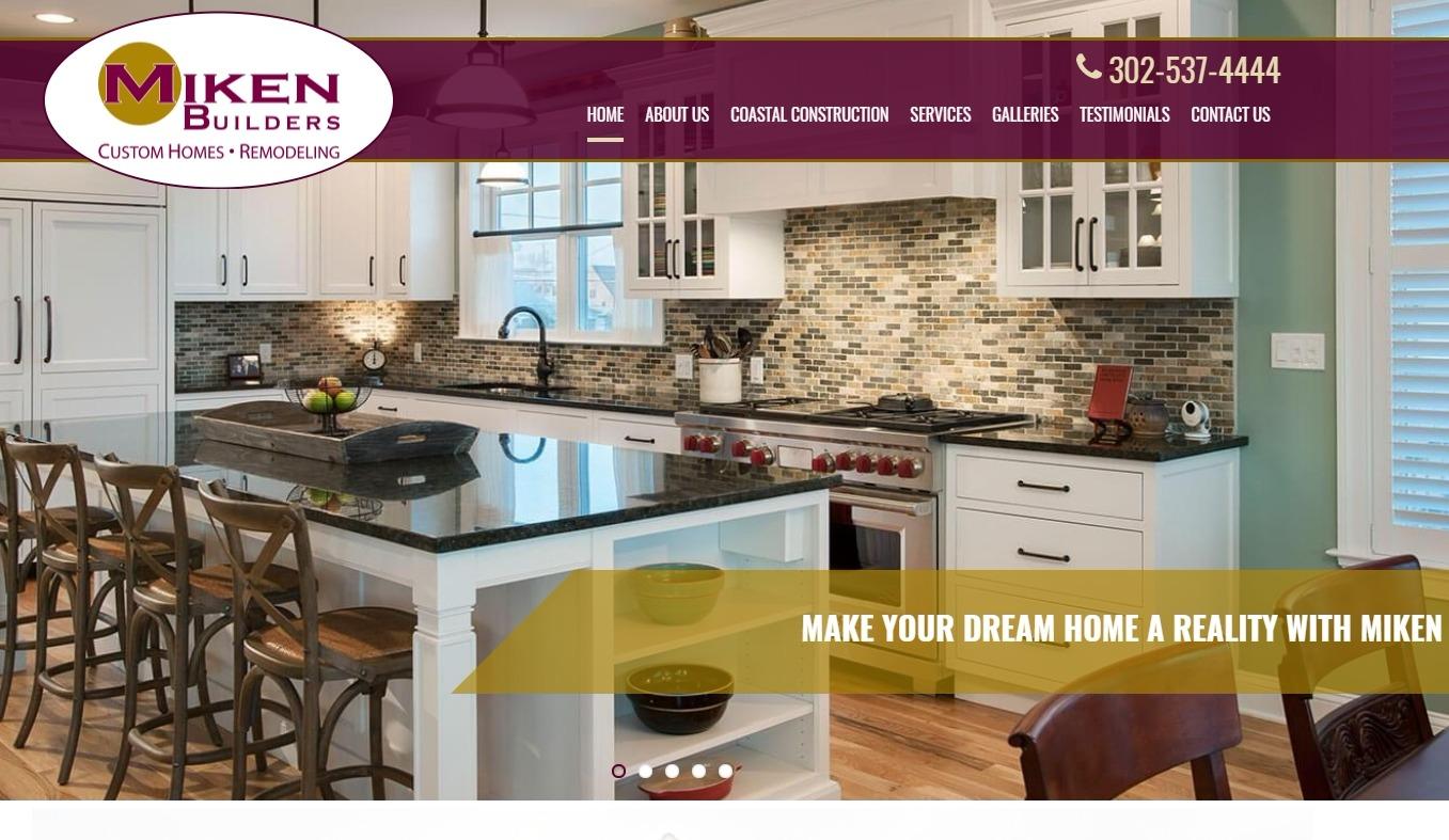 Custom Home Builder & Waterfront Homes in Delaware   Miken Builders